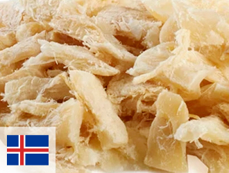 Bacalhau da Islândia Desfiado